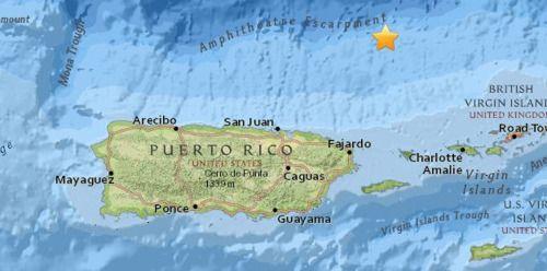 .@redsismica reporta temblor en la zona sísmica del Sombrero -...