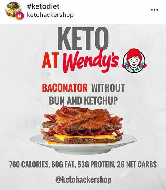 Wendy's Keto : Everything You Need to KNOW To EAT KETO at ...