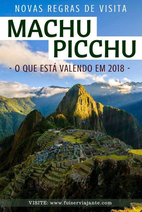 Novas regras de visita a Machu Picchu