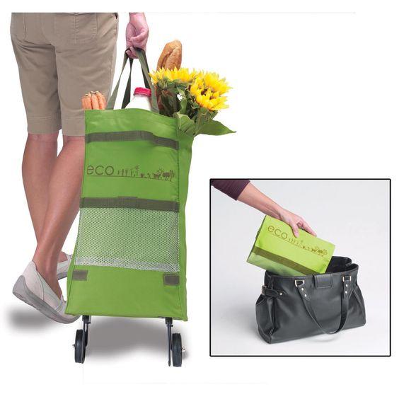 Carrinho para Compras Dobrável Eco :: OZ Organize !