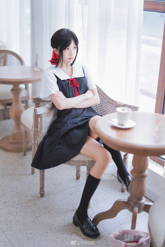 美少女 翹腿喝咖啡遙望遠方》Cute Girl Pretty Girls 漂亮、可愛、無敵》青春就是無敵》