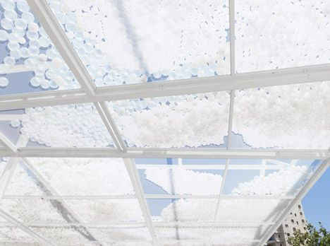 Cloud Seeding Pavilion by MODU