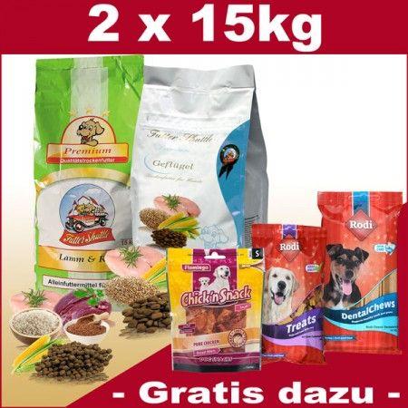 XL Paket Premium Trockenfutter für Hunde €71,96 (2,40/kg)  2 Säcke a 15kg  1 x 15kg Premium Geflügel hergestellt aus hochwertigem Geflügelfleisch und hochwertigen Zutaten  1 x 15 kg Premium Lamm & Reis Sensitiv Hochwertiges Trockenfutter hergestellt aus Lammfleisch.  Gratis dazu erhalten Sie...  http://www.mein-futter-shop.de/de/Hund/Trockenfutter-Premium/XL-Paket-Hund-2-x-15kg-Gefluegel-Lamm?x45797=a49ddddacfaa19145657b2b04c6bfeaa