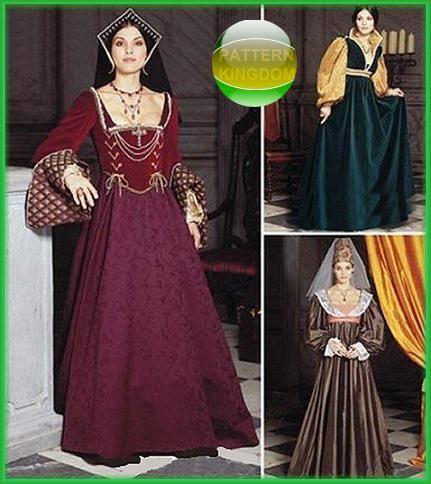 pattern kingdom ladies medieval - photo #7