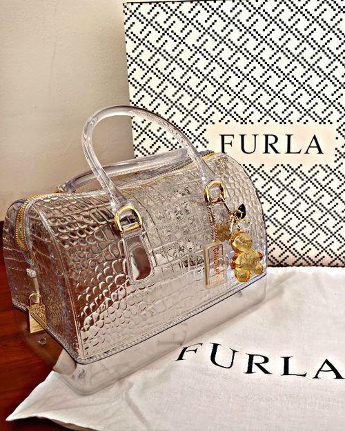 Furla now open in the Center Core! Furla Candy Satchel| LUX Handbag| Serafini Amelia