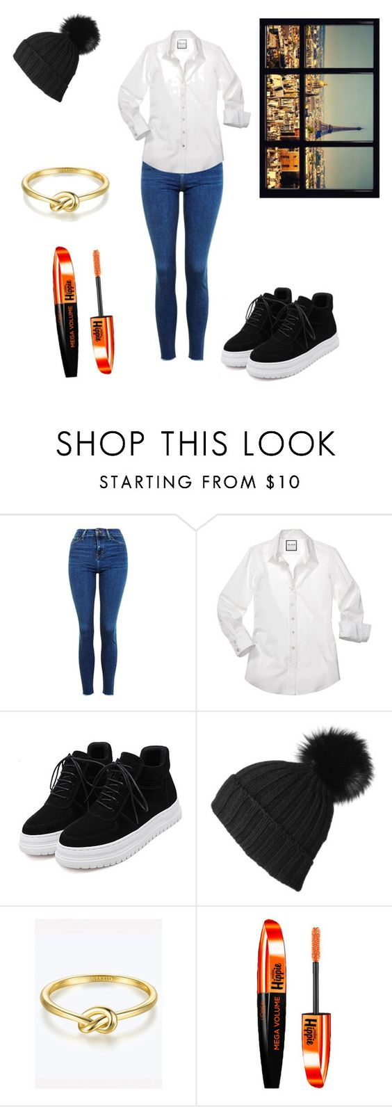 """""""monday"""" by autumneclipse ❤ liked on Polyvore featuring Topshop, Black and L'Oréal Paris"""