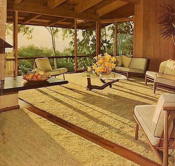 Mid Century Home The Liljestrand House at 3300 Tantalus Drive in Honolulu, Hawaii, was designed by Vladimir Ossipoff. . . . . Via: @sefefuentes #midcentury #midcenturymodern #midcenturyarchitecture #midcenturyhome #midcenturyfurniture