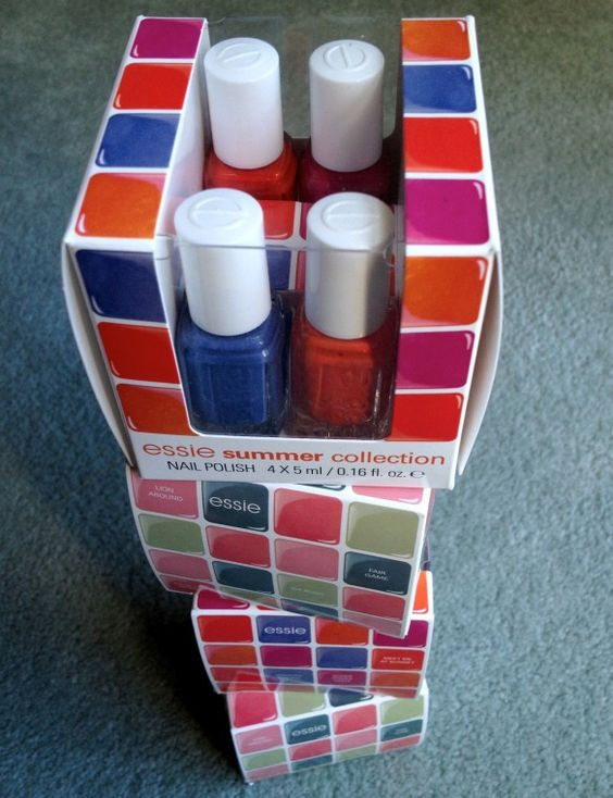 Essie Mini Color Cubes - any of them. All of them. The best way to amass a ridiculous number of shades for nail art.
