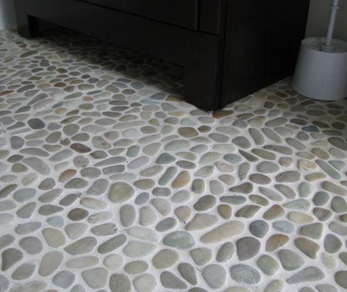 Pebble Tile Shower Floor