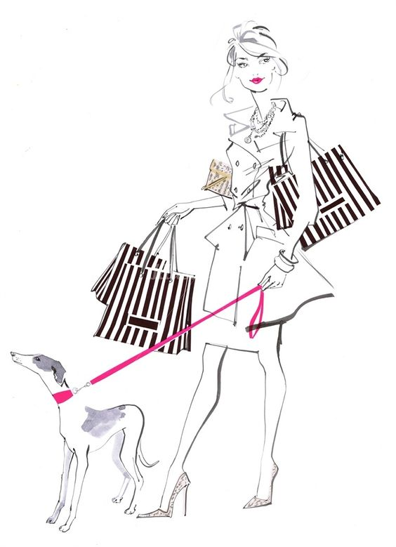 Jacqueline Bissett #fashion illustration. Learn Jacqueline's unique style in our online course. Pre-order now for £80 https://www.mastered.com/courses/11