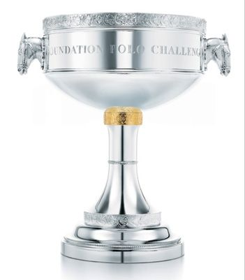 custom-designed trophy by Tiffany & Co.