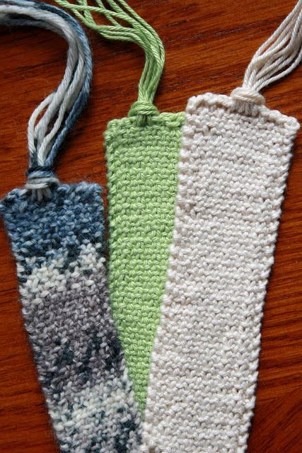 Knitting Pattern For A Book Marker : Quick knits, Knits and Notebooks on Pinterest