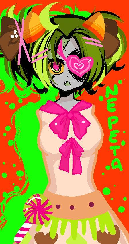 Candy Addict Nepeta by ssenarrya on DeviantArt