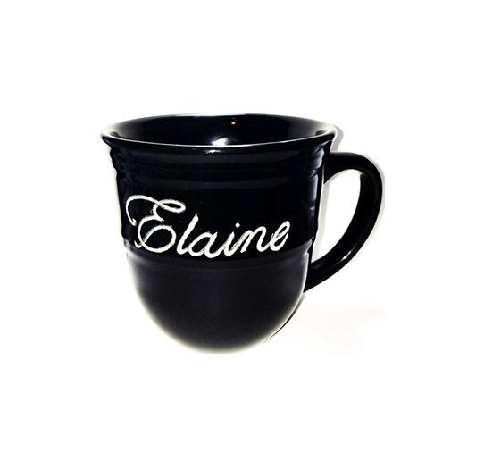 Hand Etched Coffee Mug!