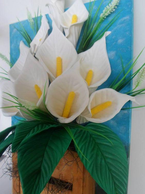 flores em eva 3d simples - Pesquisa Google