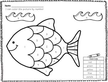 Kids will love to use this color by number printable, and ...
