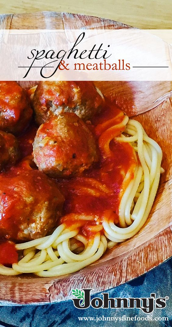 Spaghetti and Meatballs is a perfect meal for the family!