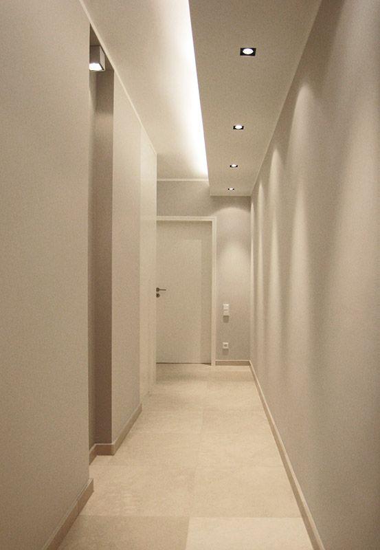 Indirekte Beleuchtung Flur / Wohnzimmer. Nicht genauso, aber so ähnlich...