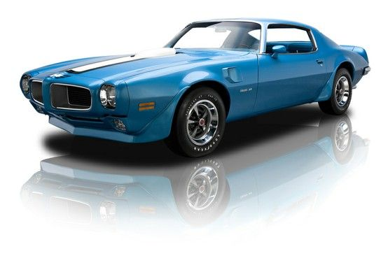 1970 Pontiac Firebird Trans Am 400 Ram Air III 4 Speed