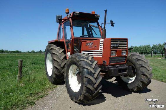 Fiat 680 Traktor Vintage Tractors Tractors Classic Tractor