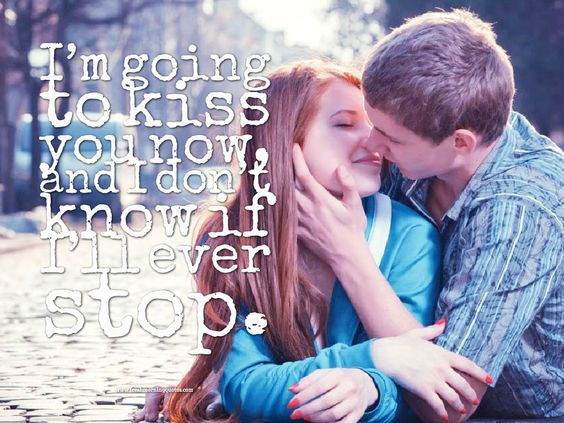 Im going to kiss you - Good Morning Romantic Kiss