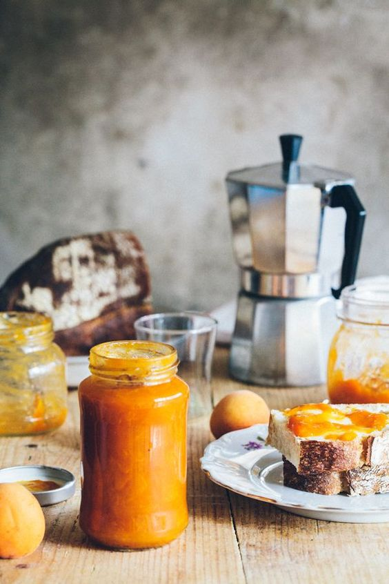 Simple, homemade apricot jam with vanilla. Foods like these make ...