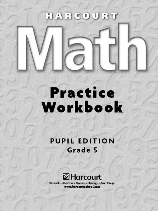 Free downloadable 170 page 5th grade math workbook   5th grade ...