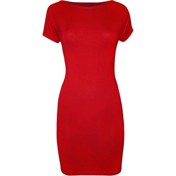 Image result for red t shirt dress