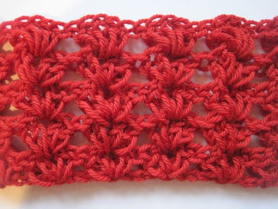 Simple Shell Stitch (great for shawls, baby blankets, and ...