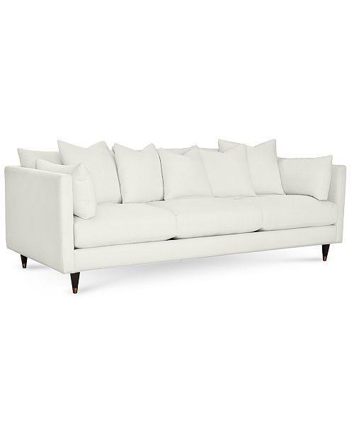 Furniture Bostal 98 White Sofa Living Room White Leather Sofas Furniture