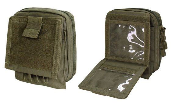 Condor Outdoor MOLLE Admin/ID Map Pouch Case MA35 Tactical Pouches