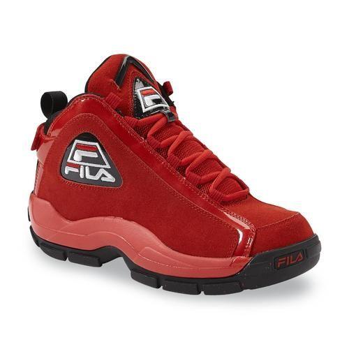 Fila Men's 96 Basketball Shoe - Red