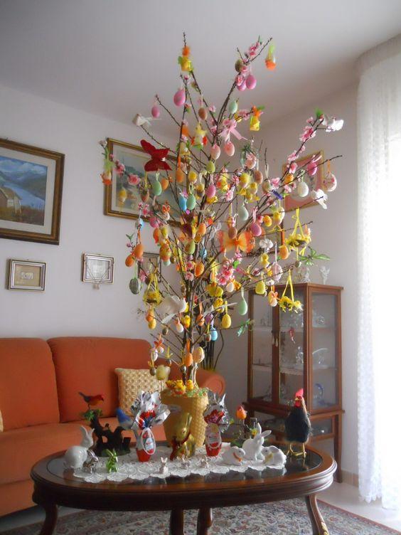 Albero di Pasqua fai da te: