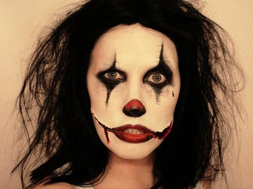 Love this clown makeup! | Halloween | Pinterest | Scary ...