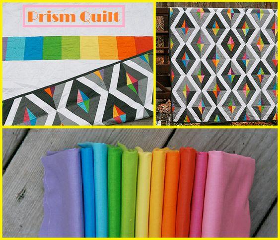 Stunning Prism Quilt!