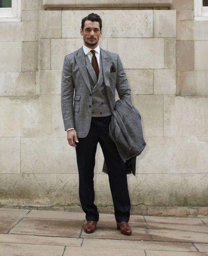 David Gandy. The model and British Fashion Council Ambassador, who