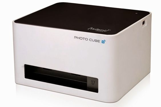 Photo Cube Wireless Printer For Android And iOS Devices : Tech Ticking