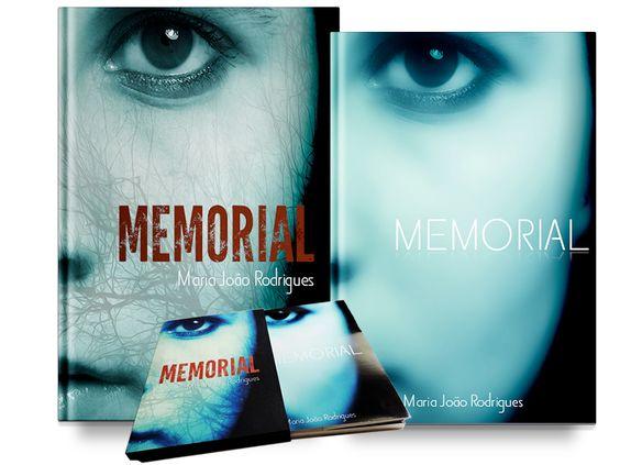 Capa e caixa do livro Memorial finalizado!  Artwork: CarlosCardoso. Vale a pena ler é um livro excelente da Maria João Rodrigues