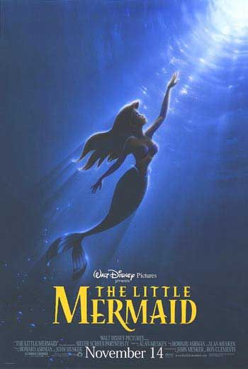 Little Mermaid movie posters at movie poster warehouse movieposter.com