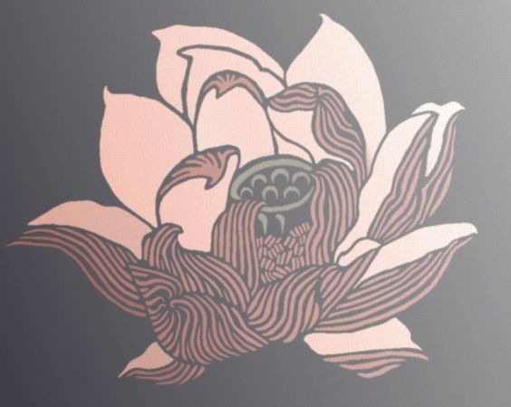 Lotus Flower Stencil stencil making Pinterest Lotus flowers