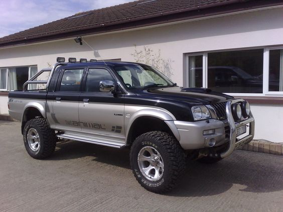 Mitsubishi L200 Turbo Diesel Dream Trucks Pinterest