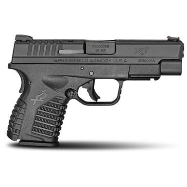 "Springfield XD-S Single Stack, Semi-automatic, .45 ACP, 4"" Barrel, with Essentials Package, 5+1 / 6+1"