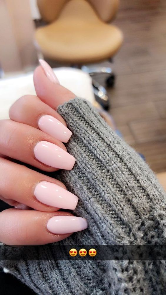 52 Best Eye Catching And Trendy Coffin Acrylic Nails Design For Fall And Winter Nail Idea 04 Fall Acrylic Nails Almond Acrylic Nails Best Acrylic Nails