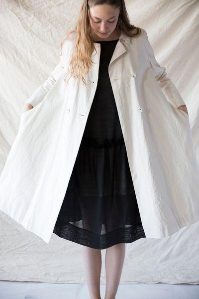 Samuji Papillo Trench Coat