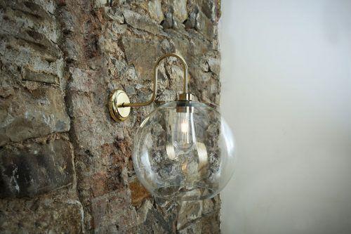 Mullan Lighting An Irish Lighting Manufacturer Have Recently Created A Range Of Moisture Resistant Wall Lights Glass Wall Lights Bathroom Inspiration Modern