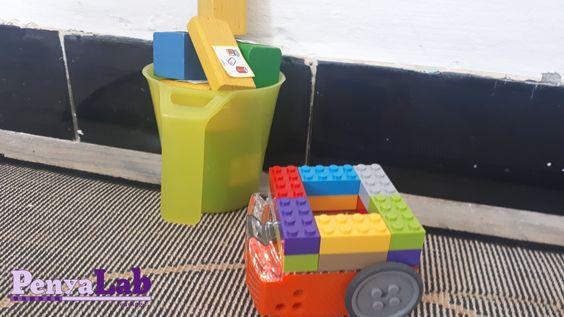 Reciclem paper i envasos amb el robot Edison