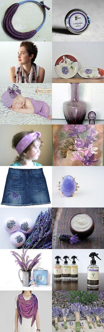Lovely Lavender by CeeCeeandBee on Etsy--https://www.etsy.com/treasury/MzI5NjExNDN8MjcyNDExMjc0MQ/lovely-lavender