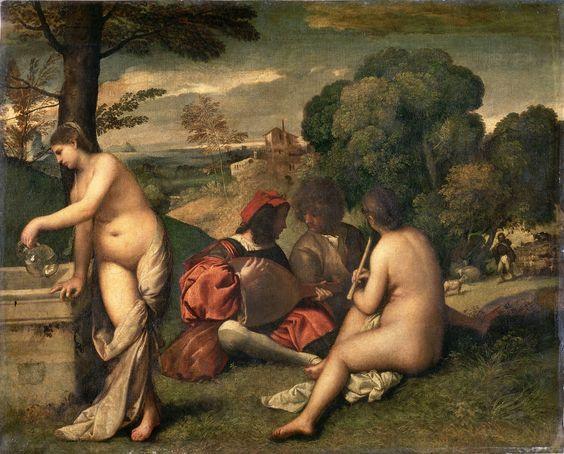 Titian Pastoral Concert