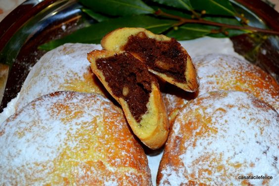 Calzoncelli dolci cotti in forno, video ricetta. on http://casafacilefelice.org