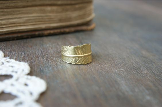 Athena Ring. I don't typically wear much gold, but this is just beautiful.